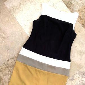Color Block Pencil Dress